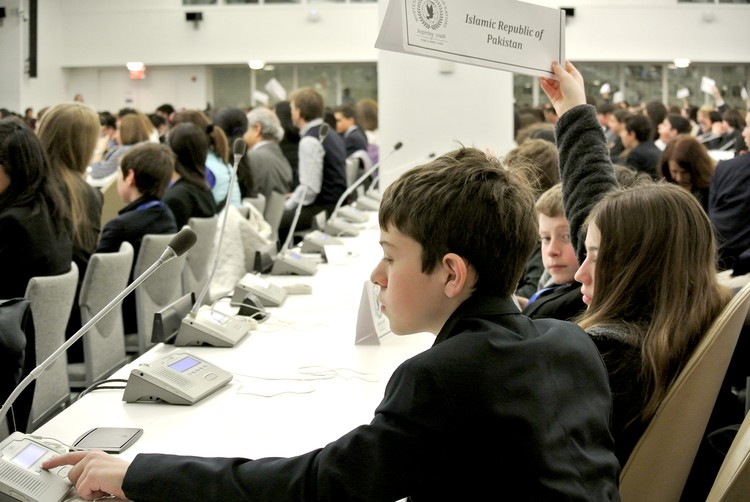 Princeton Montessori School Students Take Part in Montessori Model United Nations