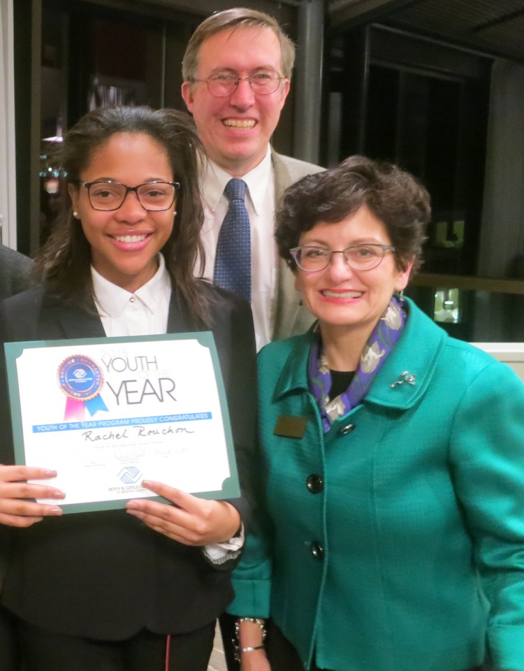 Boys & Girls Clubs of Mercer County Names Rachel Rouchon 2015 Youth of the Year