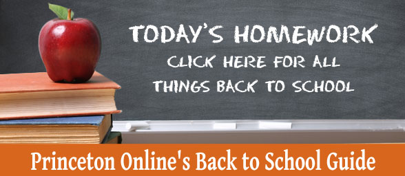 Princeton Onlines Back to School Feature