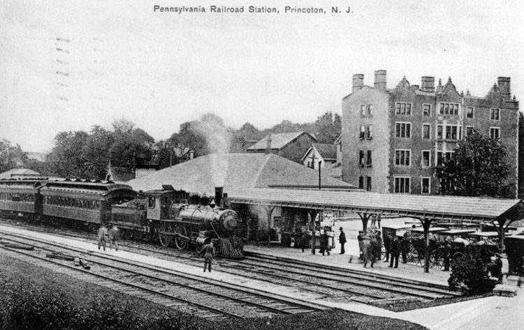 Pennsylvania Railroad Station :: Click to see a larger version
