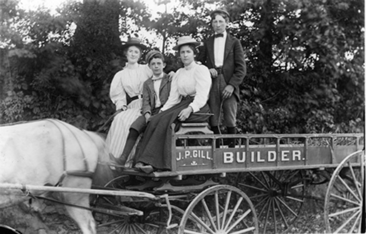 John P. Gill Builder's wagon :: Click to see a larger version
