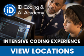 iD Coding & AI Academy for Teens Held at Princeton