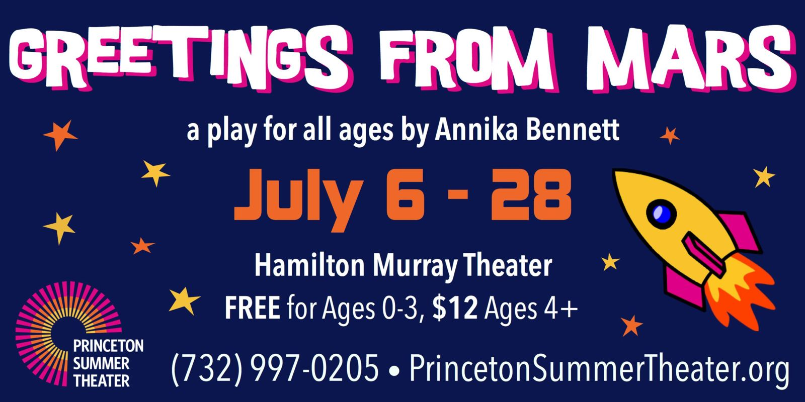 Princeton Area Events For July 12 15