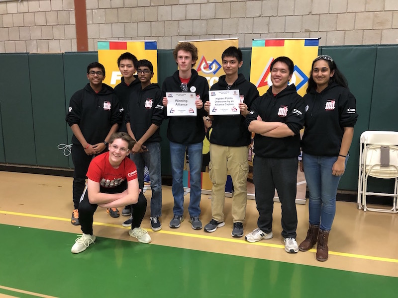 9271e3f1d0 Hun School Robotics Takes First Place Finish in New Jersey Competition