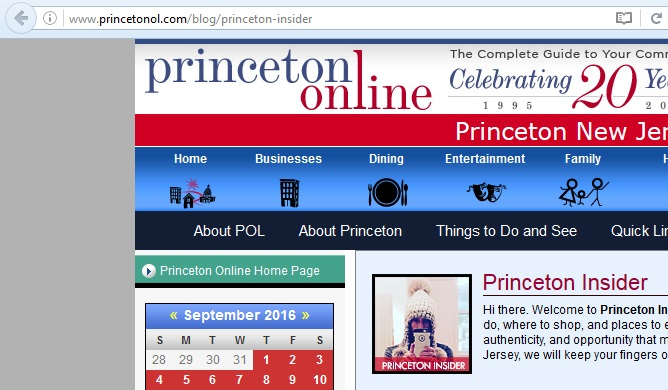 Princeton Stores and Shopping - Announcements